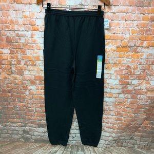 Men's Sweatpants Size S Black HANES NEW L289 L324